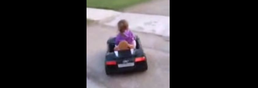My Granddaughter Driving